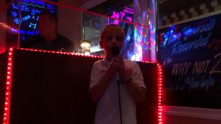 Harley Gwilt On Karaoke