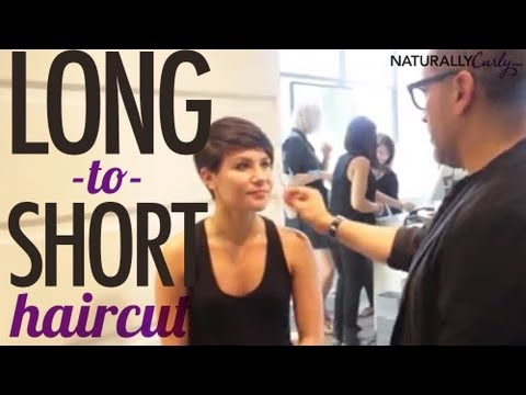 Tutorial: Long to Short Pixie Haircut