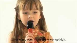 Connie Talbot - Somewhere Over The Rainbow (Karaoke/instrumental)