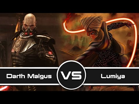Versus Series: Darth Malgus Vs. Lumiya