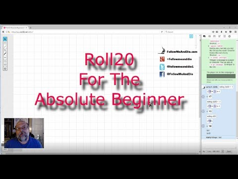 Roll20 For The Absolute Beginner - Ep1 The GM - Getting Started