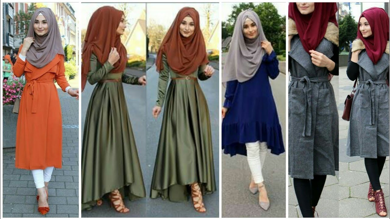 Long & Short stylish latest dresses design 2020 || Modest Muslim women fashion