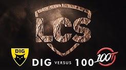 DIG vs 100   Week 4   Summer Split 2020   Dignitas vs. 100 Thieves