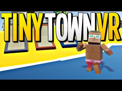 VISITING THE COOLEST DESERT ISLAND YOU HAVE EVER SEEN - Tiny Town VR Gameplay - VR HTC Vive