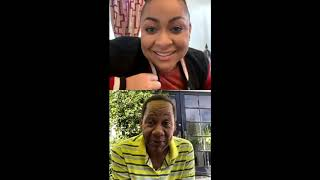 Raven-Symoné & Mark Curry on Instagram Live (05.07.20)