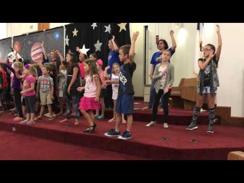 God is over the Moon - Messiah Lutheran VBS 2017