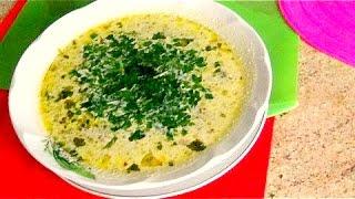 Грибной суп  - необыкновенно вкусный.