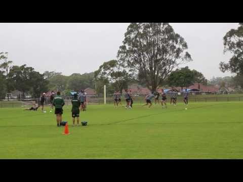 RLW TV: Rabbitohs pre-season training | Rugby League Week