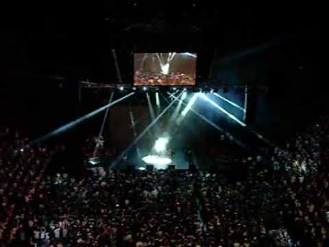 Miami Heat Intro At Champion Celebration In American Airlines Arena