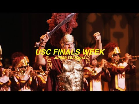 what USC Finals week be like...