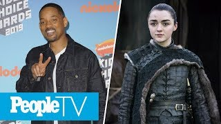 HBO Denies Arya Stark 'GoT' Spinoff Rumors, Will Smith Graces 'Aladdin' Premiere | PeopleTV