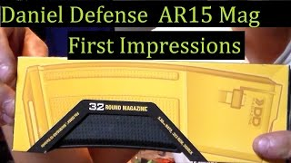 Daniel Defense Magazine 32 round Ar15 Unboxing Reactions DD Magazine