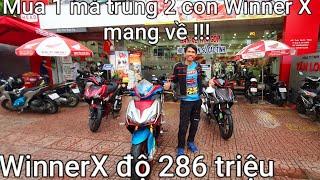 Honda WinnerX độ 286 triệu từ Kỹ Sư Hẻm sau 400 ngày !!! Mua 1 được 2 xe Winner X mới ntn ???