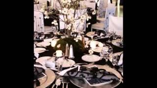 Fete D Anniversaire De La Decoration En Noir Et Blanc Youtube