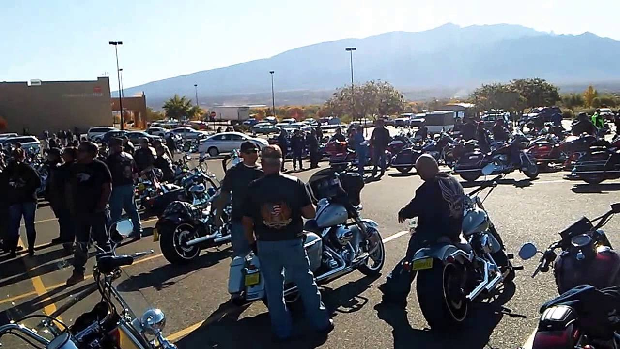 Motorcycles Presiodent Toys For Tots : Toys for tots motorcycle run youtube