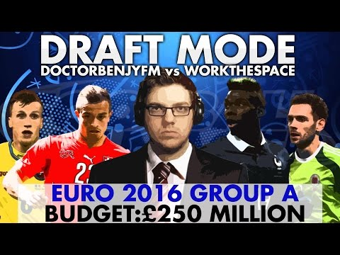 EURO 2016 DRAFT MODE | GROUP A | Football Manager 2016