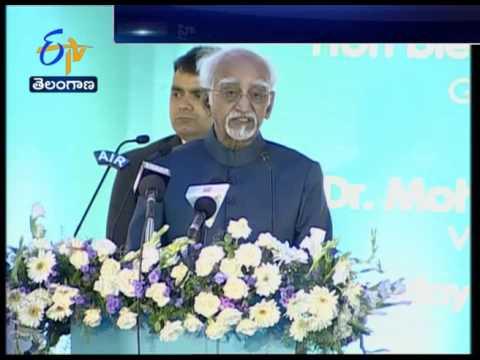 Vice President Hamid Ansari Delivers first Quli Qutub Shah Lecture at Urdhu University