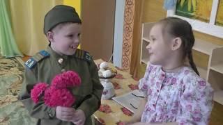 Фильм Весенняя история детский сад Берёзка Красный Чикой