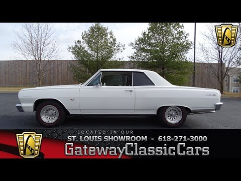 1964 Chevrolet Chevelle Stock #7625 Gateway Classic Cars St. Louis Showroom