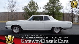 1964 Chevrolet Chevelle Stock #7625 Gateway Classic Cars St. Louis Showroom