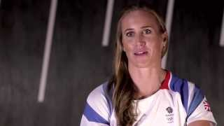 A day in the life of Olympic rowing champion Helen Glover - one year out from Rio 2016
