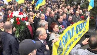 Внуки - дедам: вы победили и мы победим. 9 мая 2015, Днепропетровск, видео