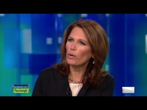 Piers Morgan and Michele Bachmann war of words
