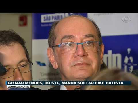 Gilmar Mendes Toma Decisão De Soltar Eike Batista