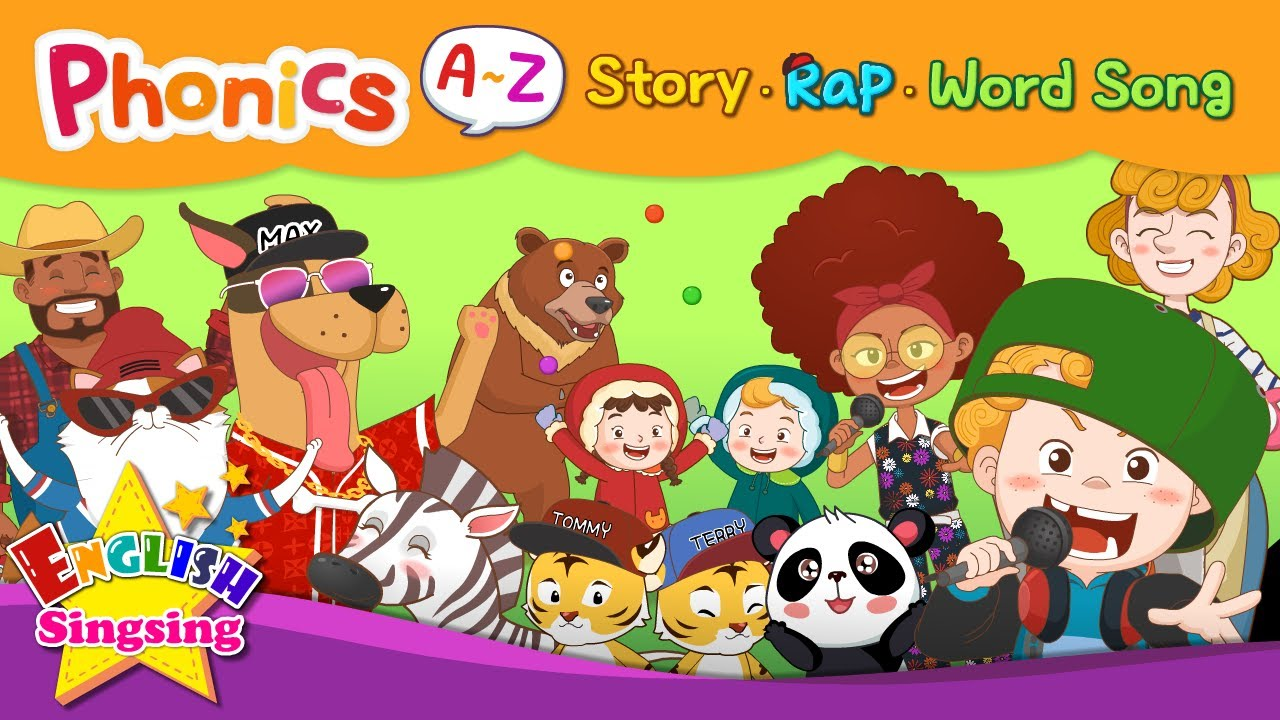 English Phonics Series Collection | A to Z for Children |