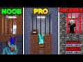 Minecraft - SECRET JAIL BREAK! (NOOB vs. PRO vs. HACKER)