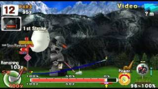 Hot Shots Golf Open Tee 2 HOLE IN ONE! PSP