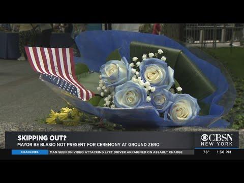 Mayor de Blasio A No-Show At 9/11 Memorial Glade Ceremony