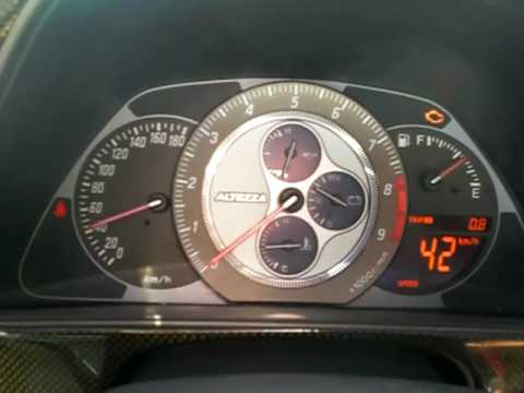 Toyota Altezza SXE10 Cluster Digital Is300 Lexus YouTube