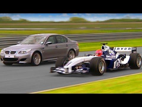 Williams F1 vs BMW M5 TBT Fifth Gear