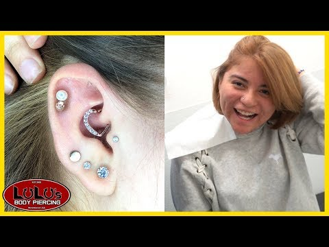 Is The Daith Piercing More Painful With Heart Jewelry??