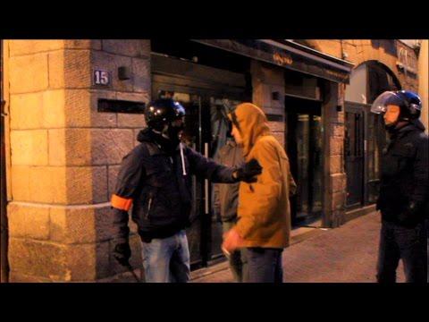 Manifestation violente à Nantes : Contre les élections ( 23/04/17 )