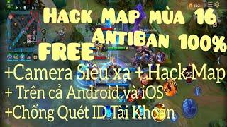 Hack Map Liên Quân Mobile Mùa 16 | Android & iOS | Lối di chuyển khi cầm Slimz