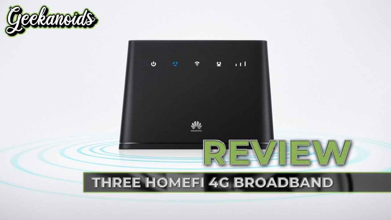 Huawei HomeFi Wireless Router from Three UK Review - Huawei B310