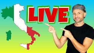 FORSE, MAGARI, MICA & other Intermediate Italian Questions (Live Q&A)