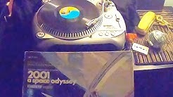"""Spinning A Toy Top On Record Player While Playing """"2001 A Space Odyssey"""" Album - Lucky Timing"""