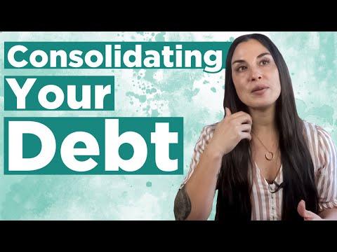 Debt Consolidation | Credit Card Debt + Paying Off Debt