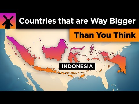 Countries That Are WAY Bigger Than You Think