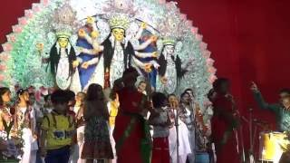 Bajlo Chutir Ghonta by NARI SHAKTI Music Group @ Durga Puja
