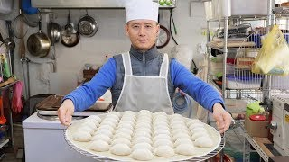 Korean Handmade Pork Dumplings  Suwon Korea