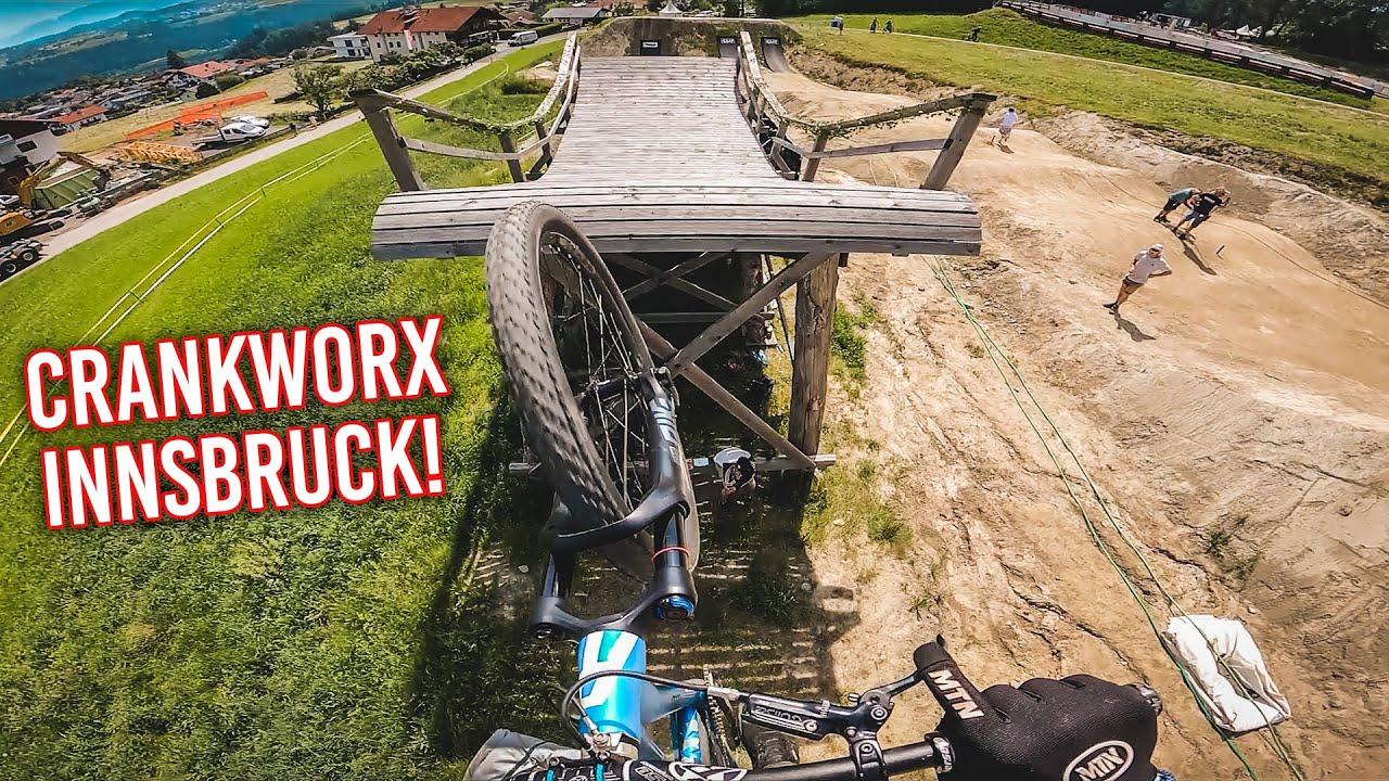 BIG SLOPESTYLE MTB JUMPS - Crankworx Innsbruck 2021