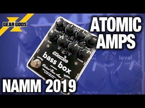 NAMM 2019 - ATOMIC AMPS   GEAR GODS