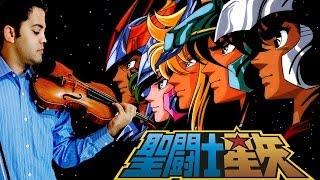 SAINT SEIYA OP 1 - Pegasus Fantasy (Violin / Violino)