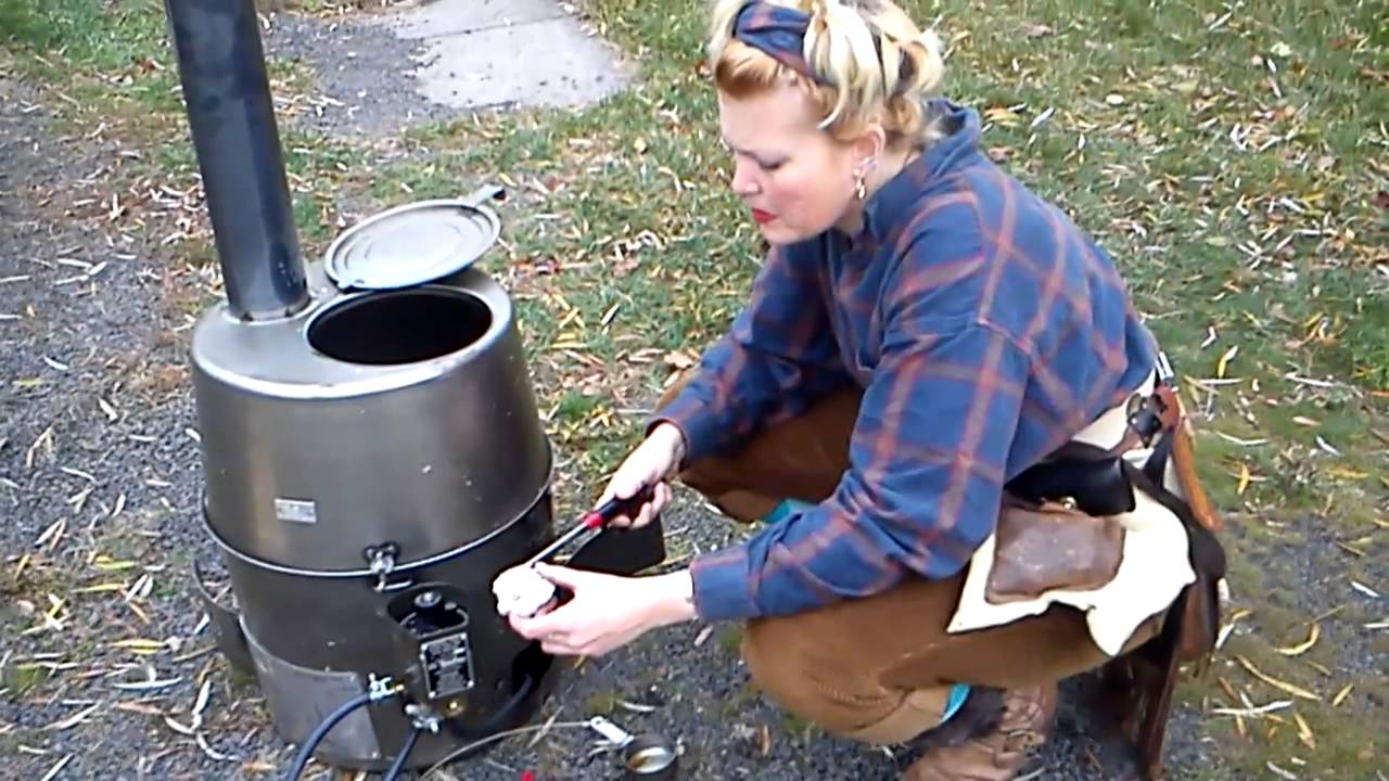sc 1 st  YouTube & H45 Army issue Multi-fuel Tent Heater Part 2 of 3 S.J.Fiscus - YouTube