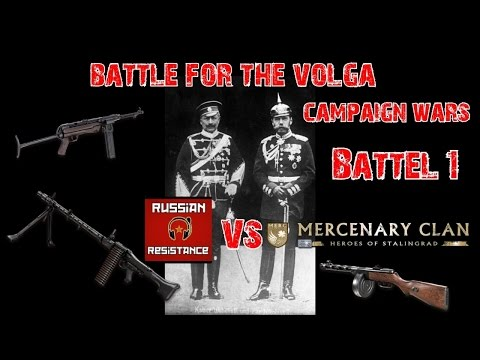 Red Orchestra 2- Russian Resistance VS Mercenary clan Battle1