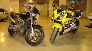 Муки выбора Honda CB600F Hornet vs Honda CBR600 F4i!!!